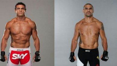 Vitor Belfort at 205 and 185 and also before and after USADA.