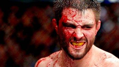 UFC welterweight contender, Carlos Condit.