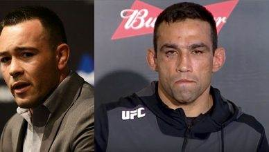 Colby Covington and Fabricio Werdum.