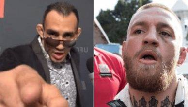 Tony Ferguson and Conor McGregor.