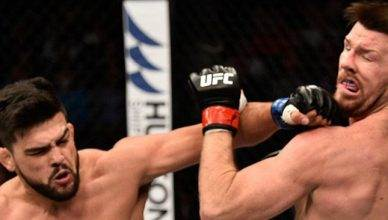 UFC Results:: Kelvin Gastelum finished Michael Bisping at UFC Fight Night 122.