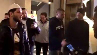 Michael Bisping and Jorge Masvidal hotel altercation.