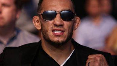 UFC champion, Tony Ferguson.