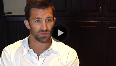 Former UFC middleweight champion, Luke Rockhold.