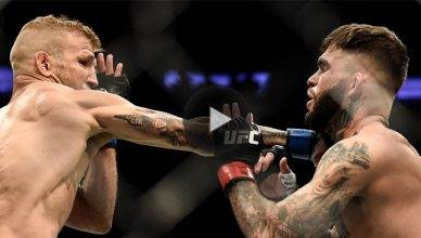 Watch T.J. Dillashaw knock out his former teammate Cody Garbrandt to win the UFC bantamweight title for a second time at UFC 217 from Madison Square Garden.