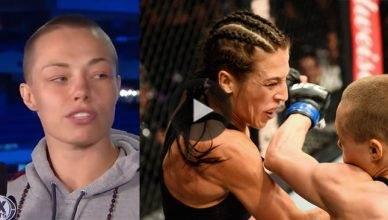 Rose Namajunas beats Joanna Jedrzejczyk at UFC 217.