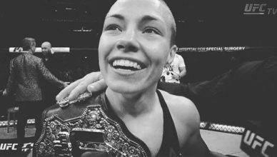 UFC Strawweight champion, Rose Namajunas.