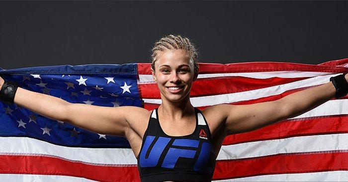 UFC star Paige VanZant.
