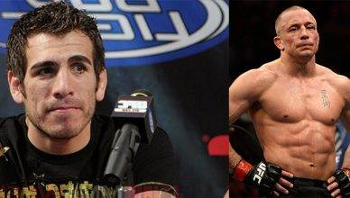 Kenny Florian and Georges St. Pierre.