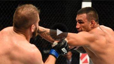 Former UFC heayvweight champion Fabricio Werdum puts on a great performance at UFC Fight Night 121 in Sydney.