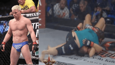 Some of the worst MMA and UFC wardrobe malfunctions.