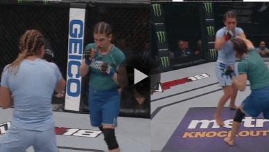 UFC Results: Nicco Montano def. Roxanne Modaferri via unanimous decision (50-45, 49-46, 49-46)