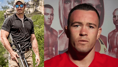 Tim Kennedy and Colby Covington.