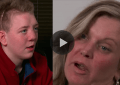 Keaton Jones and his mother.