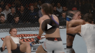 UFC Results: Tecia Torres def. Michelle Waterson via unanimous decision (30-27, 29-28, 29-28).