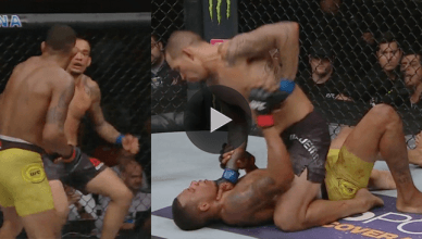 UFC Results: Yancy Medeiros def. Alex Oliveira via TKO in round three