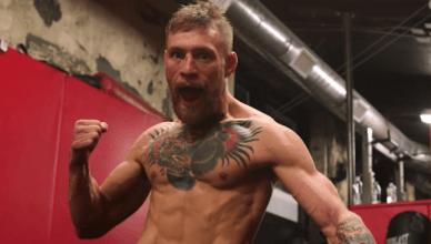 UFC champion Conor McGregor.