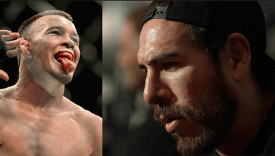 Colby Covington and Kenny Florian.