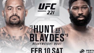 Mark Hunt vs. Curtis Blaydes added to the UFC Schedule