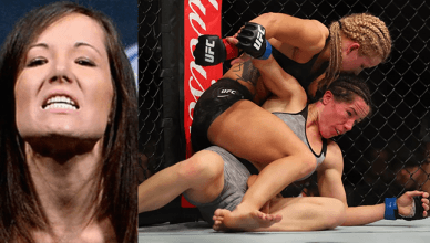 UFC strawweight Angela Magana is making a lot of excuses or why she got smashed by Amanda Cooper at UFC 218.