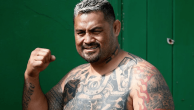 UFC heavyweight star, Mark Hunt.