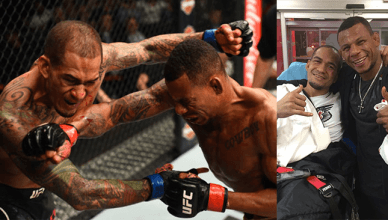 Yancy Medeiros and Alex Oliveira went to war at UFC 218.
