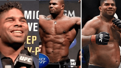 Alistair Overeem before and after USADA drug testing.