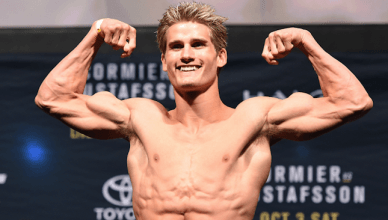 Look for UFC star Sage Northcutt on the upcoming UFC schedule.