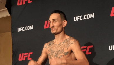 UFC Results: UFC 218 weigh in is now complete and all fighter's made weight including Max Holloway who looked pretty rough.