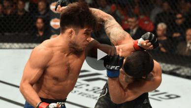 UFC Results: Henry Cejudo def. Sergio Pettis via unanimous decision.