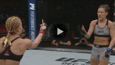 UFC Results: Felice Herrig def. Cortney Casey via split decision (29-28, 29-28, 29-28)