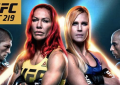 UFC 219 on December 30th.