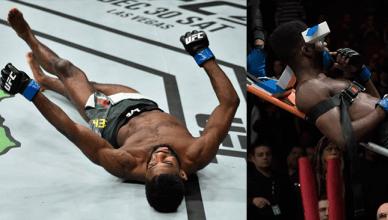 Marlon Moraes brutally KO's Aljamian Sterling at UFC Fight Night 123.
