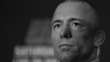 Former UFC middleweight champion Georges St-Pierre.