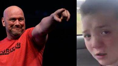 Dana White wants to help young Keaton who is being bullied at school.
