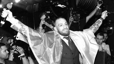 UFC star, Conor McGregor.