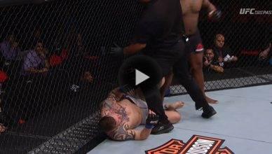 UFC Results: Justin Willis def. Allen Crowder via knockout in round one.