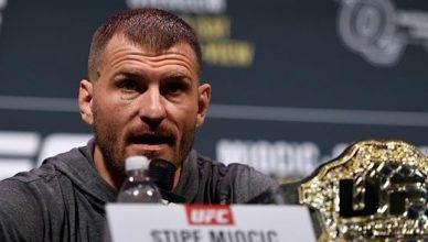 UFC heavyweight star, Stipe Miocic.