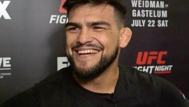 UFC middleweight contender, Kelvin Gastelum.