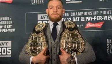 UFC champion Conor McGregor.