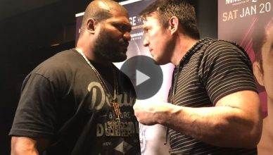 Rampage Jackson vs. Chael Sonnen at Bellator 192.
