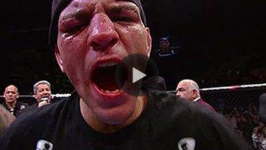 UFC star Nick Diaz.