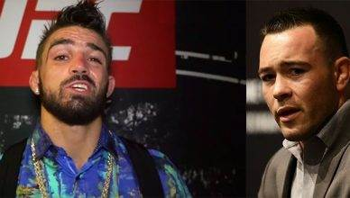 """Platinum"" Mike Perry and Colby Covington"