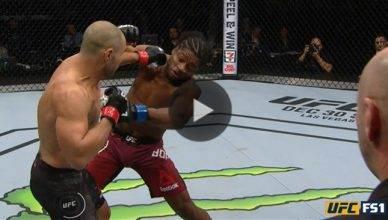 UFC Results: Chad Laprise defeats Galore Bofando via TKO in round one
