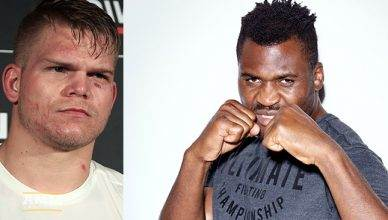 Chase Sherman and Francis Ngannou.