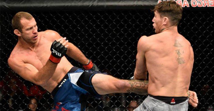 Donald Cerrone fighting Darren Till.