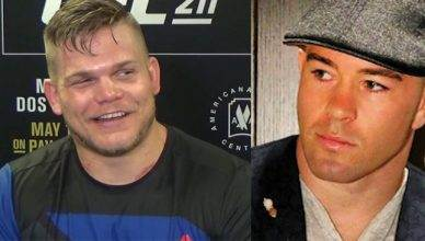 Chase Sherman and Colby Covington.