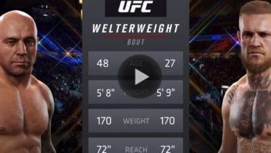 EA UFC Simulator