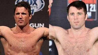 Chael Sonnen before and after PED's