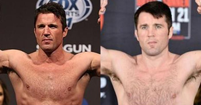Chael Sonnen's Body, Before And After Getting Busted For